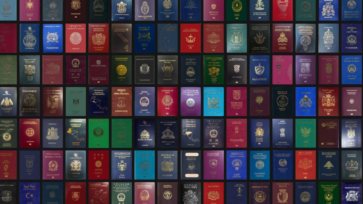 falsificaciones de pasaportes
