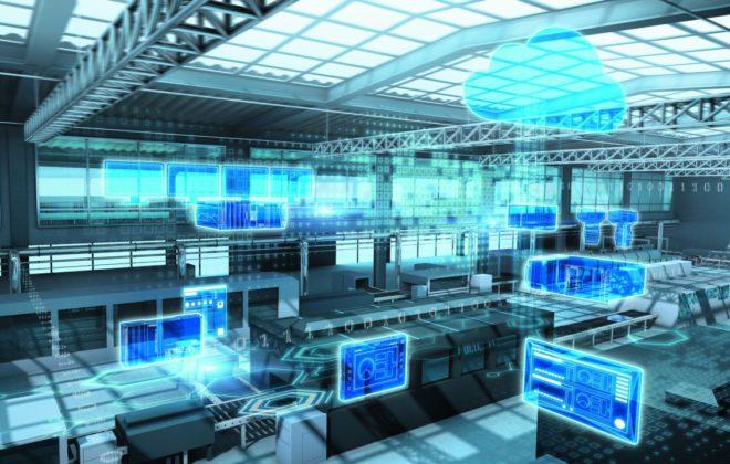 planta industrial digitalizada