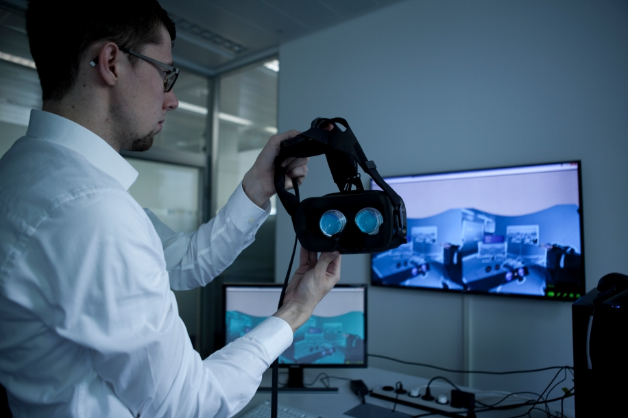 Mantenimiento industrial a través de la realidad virtual