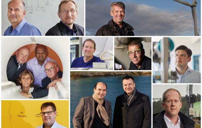 Siemens ha premiado a los 13 mejores inventores del 2017