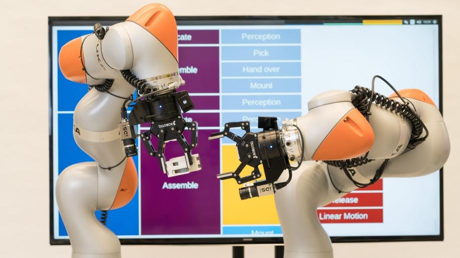 robots sin programación siemens