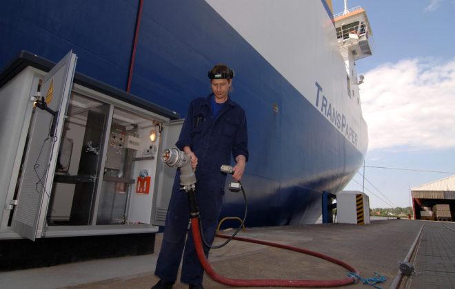 reducir emisiones en puerto