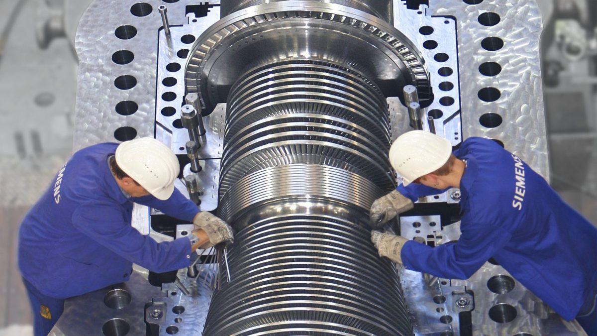 mantenimiento siemens turbinas