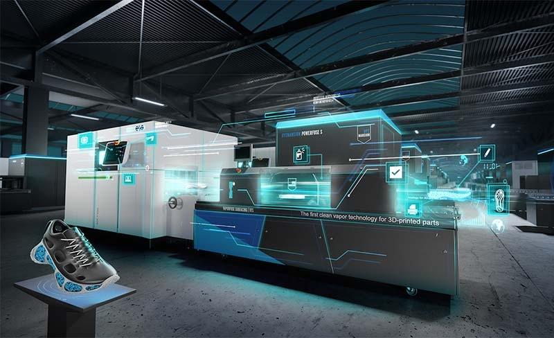 cómo es la fábrica virtual para la impresión 3d